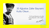 30 AGUSTOS ZAFER BAYRAMI KUTLAMASI