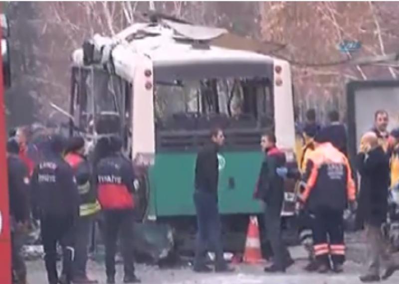 SON DAKİKA... Kayseri'de Erciyes Üniversitesi önünde patlama