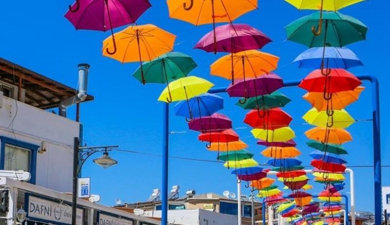 Temalı Sokaklar Renk Renk