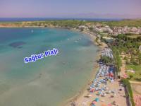 Didim Sağtur Plajına Yakın Satılık İmarlı Villa Arsası